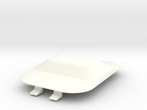 Lancia Delta Dom Abdeckung hinten Cover rear in White Strong & Flexible Polished