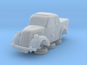 1-64 Ford Anglia E494a Pickup in Smooth Fine Detail Plastic