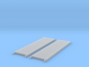 1:48 84x22 Walkboards in Frosted Ultra Detail