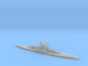 IJN Hiraga 1/2400 (Hiraga's Treaty Battleship Desi in Smooth Fine Detail Plastic