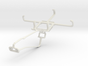 Controller mount for Xbox One Chat & Celkon Campus in White Natural Versatile Plastic