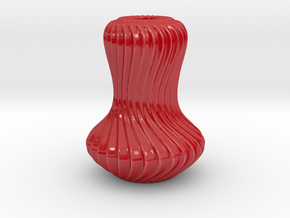 Vase AAV XL in Gloss Red Porcelain