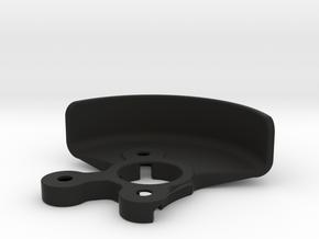 2612 - B6 LAYDOWN GEAR Shield in Black Natural Versatile Plastic
