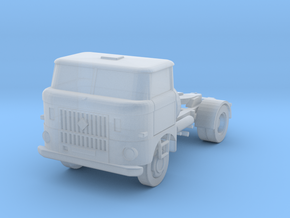 W50-Sattelzugmaschine / Semi truck (N, 1:160) in Frosted Extreme Detail
