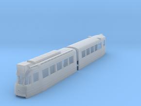 Amsterdamse gelede tram 1G (H0 & N) in Smooth Fine Detail Plastic: 1:160 - N