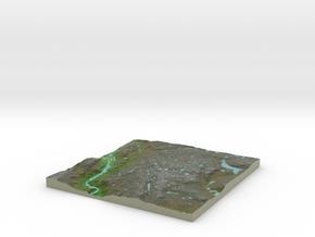 Terrafab generated model Sun Dec 04 2016 20:28:16  in Full Color Sandstone