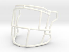 Live Mask Speed Flex (Ice Cage Style)  with Eye Ba in White Processed Versatile Plastic