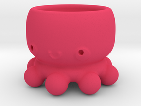 Kawaii Octopus in Pink Strong & Flexible Polished