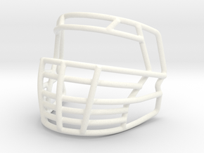 Live Mask Big Grill 2.0 for Speed Mini Helmets  in White Processed Versatile Plastic