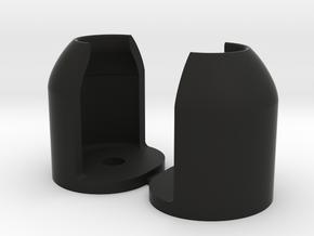 Shocktower Protectors  in Black Natural Versatile Plastic