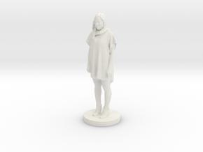 Printle C Femme 063- 1/64 in White Natural Versatile Plastic