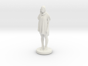 Printle C Femme 063- 1/43 in White Strong & Flexible