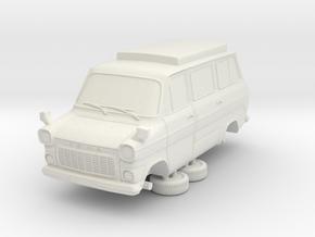 1-87 Ford Transit Mk1 Short Base Camper Van (repai in White Strong & Flexible
