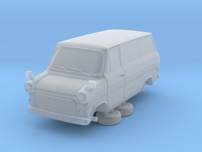 1-87 Ford Transit Mk1 Short Base Delivery Van (rep in Smooth Fine Detail Plastic