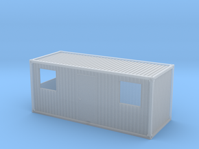 1:160 Wohncontainer residential container in Smooth Fine Detail Plastic