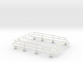 Roofrack D90 Adventure Team Raffee 1/3 in White Natural Versatile Plastic