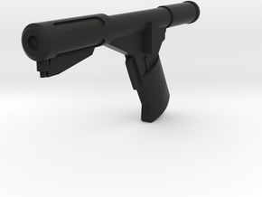 Sandman DS Blaster Gun (Logan's Run), 1/6 in Black Natural Versatile Plastic