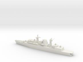 1/600 Type 22 Batch 1, HMS Brilliant in White Natural Versatile Plastic