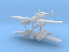 1/285 Grumman XF5F Skyrocket (late) x2 in Frosted Ultra Detail