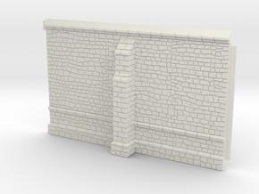 HORelM0104 - Gothic modular church in White Natural Versatile Plastic
