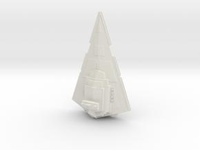 Imperial Star Destroyer in White Natural Versatile Plastic