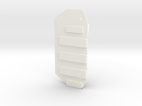 Invencer Battery Box RH in White Processed Versatile Plastic
