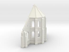 HORelM0143 - Gothic modular church in White Strong & Flexible