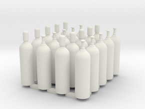 Welding & Industrial High Pressure Cylinders (20Pa in White Natural Versatile Plastic