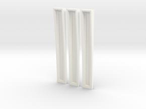 Predator AvP Laser Mine Clear l.e.d. holder Replic in White Processed Versatile Plastic