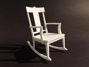 St Charles Rocker 1-12 Scale in White Strong & Flexible