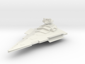 Victory Class Star Destroyer in White Strong & Flexible