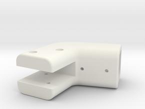 ROLL BAR LOWER BRKT.1 in White Strong & Flexible