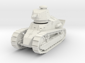PV10A M1917 Six Ton Tank (Marlin MG) (28mm) in White Strong & Flexible
