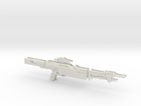 N7 Valiant  Prop Replica  in White Natural Versatile Plastic