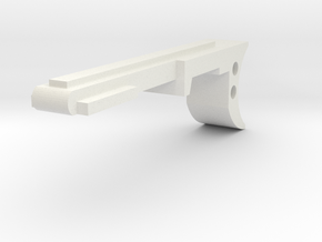 GL40 Trigger (Part4 of 6) in White Natural Versatile Plastic