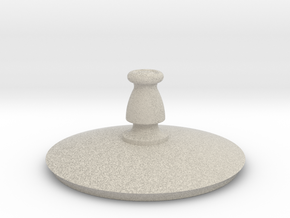 Antiquities Vessel Lid 163 in Natural Sandstone
