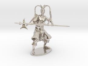 Lü Bu Miniature in Platinum: 1:60.96