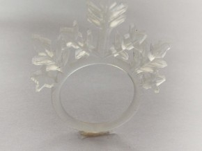 Snowflake style 3 size 7 in Smooth Fine Detail Plastic