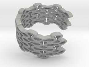 Brace Bracelet in Aluminum