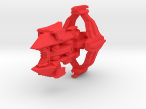 Colour Slipstreamer Destroyer in Red Strong & Flexible Polished