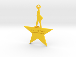 Hamilton Spinning Ornament in Yellow Strong & Flexible Polished