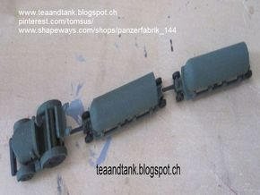1/144 RAF Bomb Transport Set in White Strong & Flexible