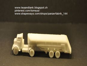 1/144 F-1 Fuel Trailer for Autocar Tractor in White Strong & Flexible