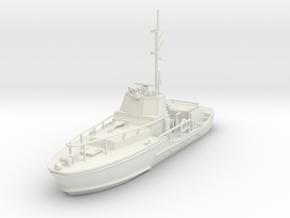1/87 USCG 44 Foot Motor Lifeboat Waterline in White Natural Versatile Plastic