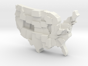 USA by Obesity in White Strong & Flexible