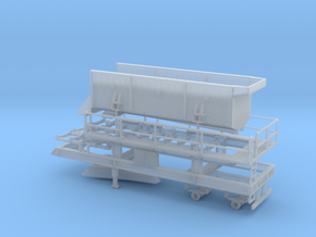 1/64th Portable Screen Plant trailer with walkways in Smooth Fine Detail Plastic