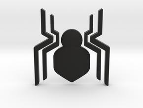 Spider-Man Homecoming Chest Symbol in Black Natural Versatile Plastic
