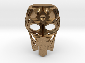 Mask of Intangibility V2 in Natural Brass