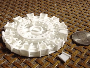 Arc Reactor v1.2 in White Natural Versatile Plastic