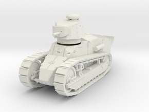 PV151 M1917A1 Six Ton Tank w/MG (1/48) in White Natural Versatile Plastic